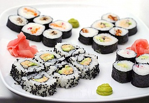 Obrázek - Sushi Maki s Tempehem a Avokádem