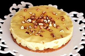 Obrázek - Výborný jablkový koláč s vanilkovým pudingem