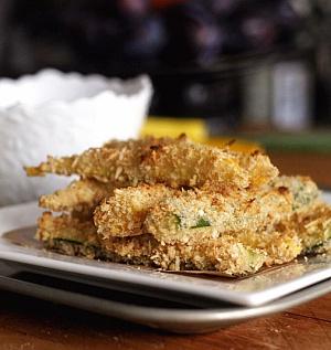 Obrázek - Zucchini Land - Obalované Pečené Cuketky