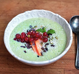 Obrázek - Výborná Zdravá Zelená Snídaně (Raw)