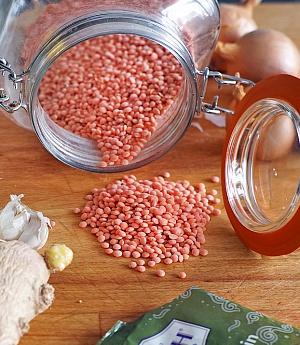 Obrázek - Nejoblíbenější polévka z červené čočky