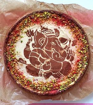 Obrázek - Téměř raw čokoládovo-vanilkový Ganesha