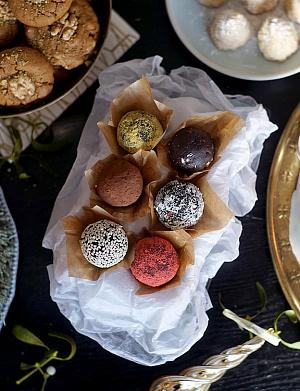 Obrázek - Raw čokoládové brownies s mandlemi