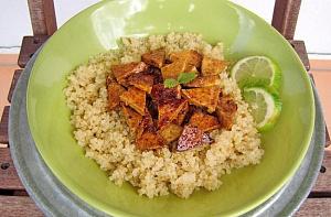 Obrázek - Limetkové Tofu s Quinoou