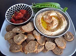 Obrázek - Základní Hummus