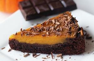 Obrázek - Pumpkin Pie Brownie