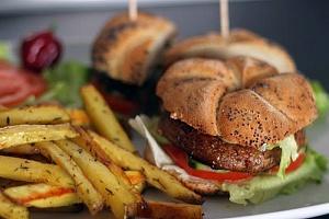 Obrázek - Grilované Portobello Burgery