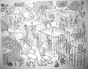 Obrázek - Zoo Omalovánky